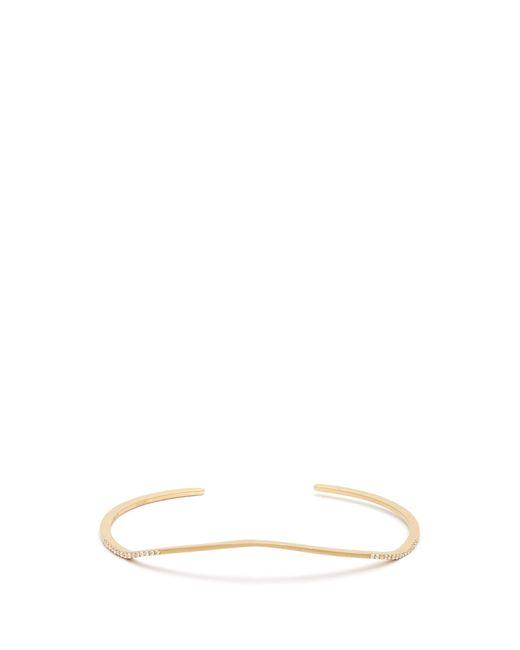 Monique Péan | Metallic Diamond & Yellow-gold Cuff | Lyst
