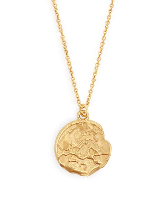Alighieri - Metallic Virgo 24kt Gold Plated Necklace - Lyst