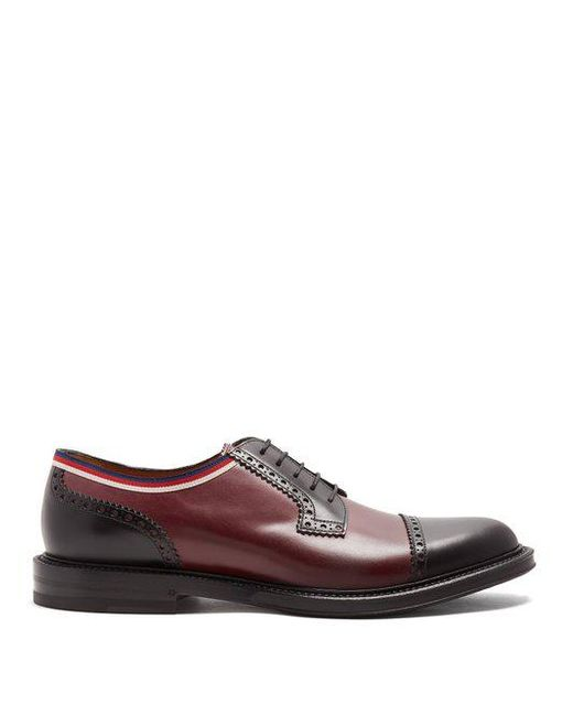 Beyond leather derby shoes Gucci PJ8Wks
