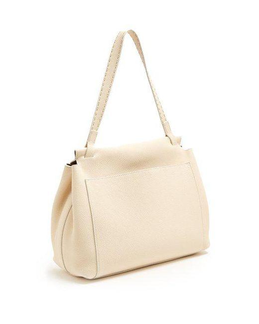Sidekick Textured-leather Shoulder Bag - Ivory The Row 7OzuOQb