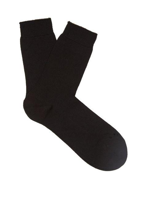 Falke - Black No.1 Finest Cashmere-blend Socks - Lyst