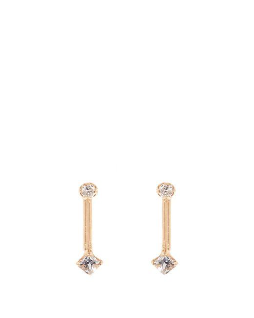 Loren Stewart | Multicolor Diamond, Topaz & Yellow-gold Earrings | Lyst