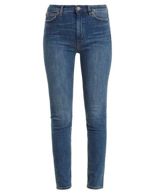 MiH Jeans - Blue Bridge High-rise Skinny Jeans - Lyst