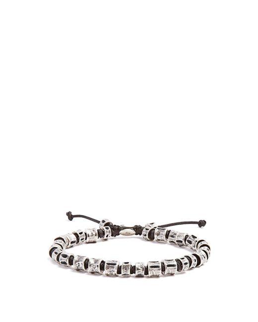 M. Cohen   Metallic Sterling-silver Bone Bracelet for Men   Lyst