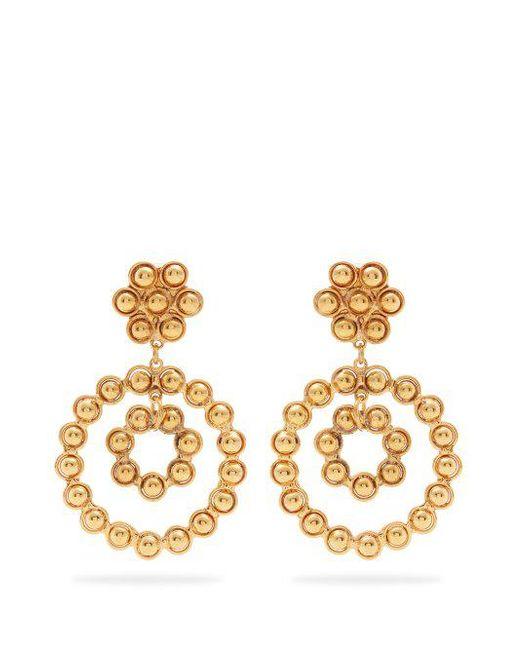 Sylvia Toledano Lucky Flower earrings - Metallic ByguuWI