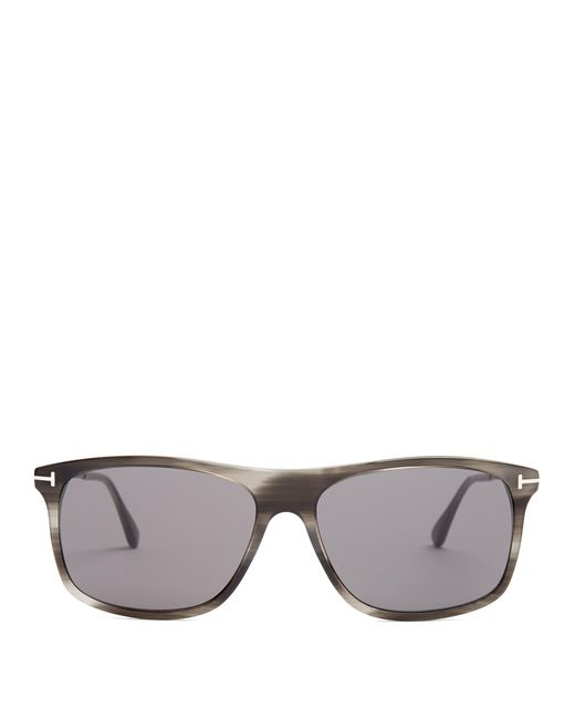 00829cc08e6 Tom Ford - Gray Square Frame Sunglasses for Men - Lyst ...