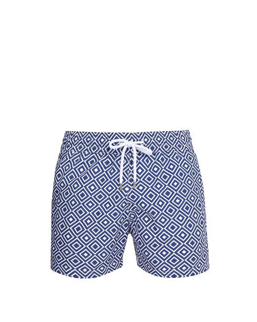 Frescobol Carioca - Blue Short de bain à imprimé Angra Sports for Men - Lyst