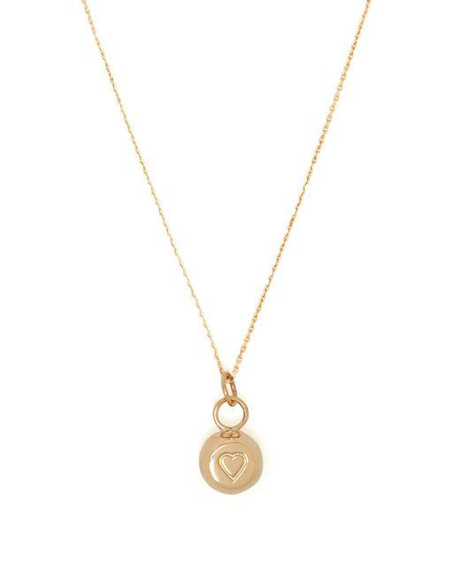 Aurelie Bidermann - Metallic 18kt Gold Bell Charm Necklace - Lyst