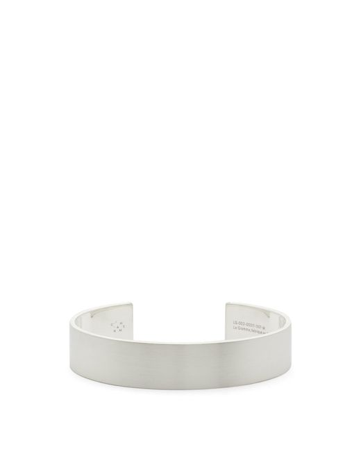 Le Gramme - Metallic Le 41 Slick Sterling-silver Bracelet for Men - Lyst