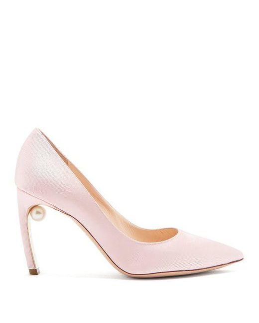 Mira pearl-heeled pumps Nicholas Kirkwood lASSR