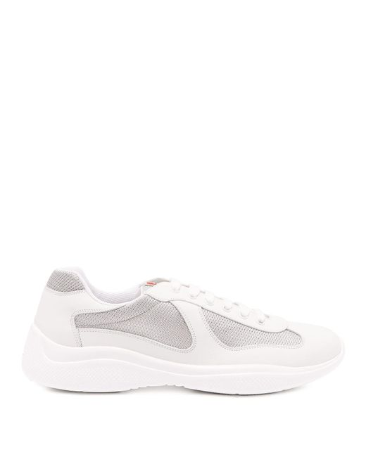 Prada - White America's Cup Sneakers for Men - Lyst