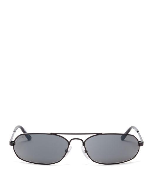 5852b3f4fac Balenciaga - Black Aviator Sunglasses for Men - Lyst ...