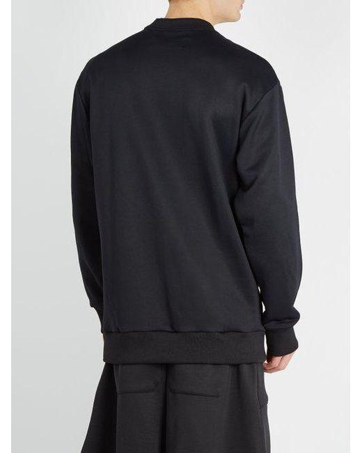 Cheap Prices Lace-up cotton-blend sweatshirt Marques Almeida Get hjTOupxzQk