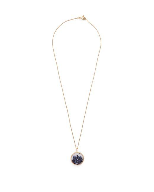 Aurelie Bidermann - Blue Gold Plated Miki Ring - Lyst