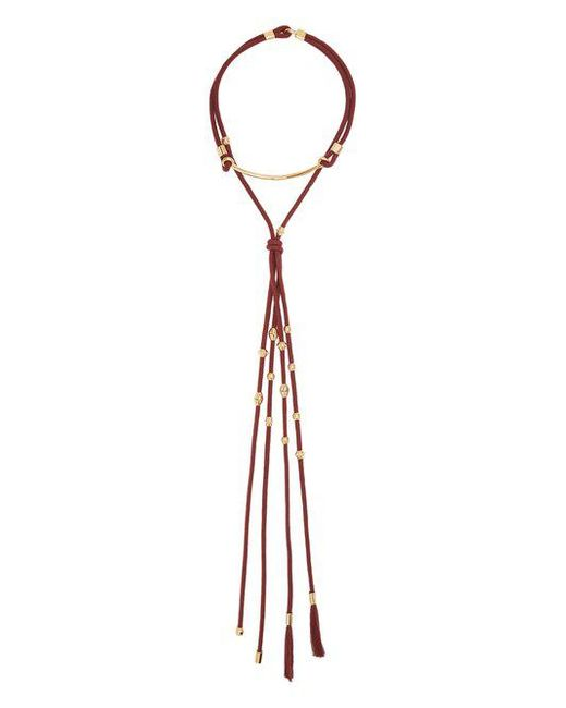 Chloé - Otis Layered Cord Necklace - Lyst