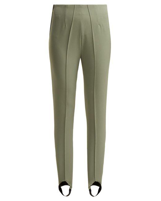 Bogner - Green Elaine Stirrup Ski Trousers - Lyst