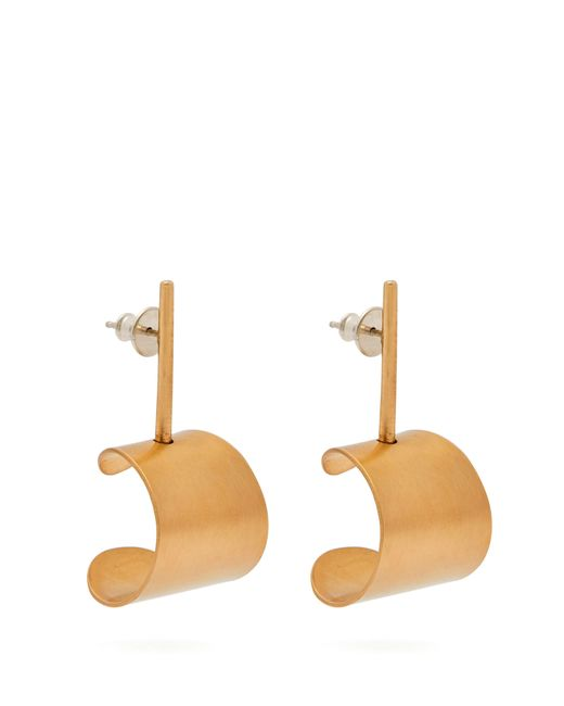 Fay Andrada - Multicolor Tappi Small Brass Drop Earrings - Lyst