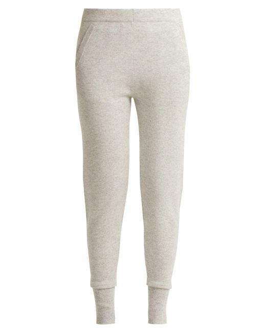Allude - Gray Cashmere leggings - Lyst