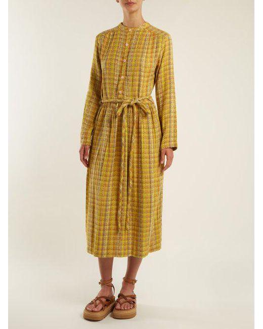 Cheap Sale Nicekicks Outlet Manchester Striped cotton-blend dress Ace & Jig kNoQ8ECC