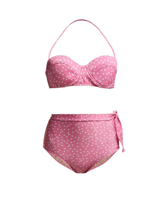 Adriana Degreas - Pink Mille Puncti High Waist Bikini - Lyst