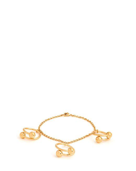 J.W. Anderson - Metallic Double-sphere Gold-plated Bracelet - Lyst