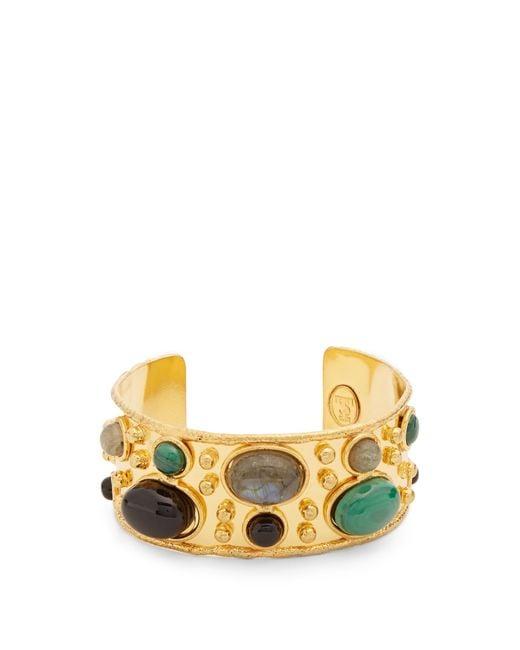 Sylvia Toledano | Metallic Byzance Small Gold-plated Cuff | Lyst