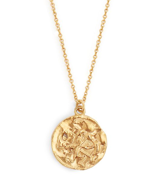 Alighieri - Metallic Sagittarius Gold Plated Necklace - Lyst