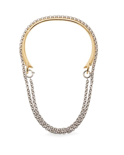 Charlotte Chesnais | Metallic Briska Silver & Gold-plated Necklace | Lyst