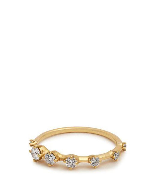 Fernando Jorge - Metallic Diamond & Yellow-gold Sequence Ring - Lyst