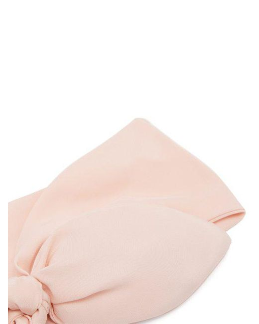 Silk bow headband House of Lafayette