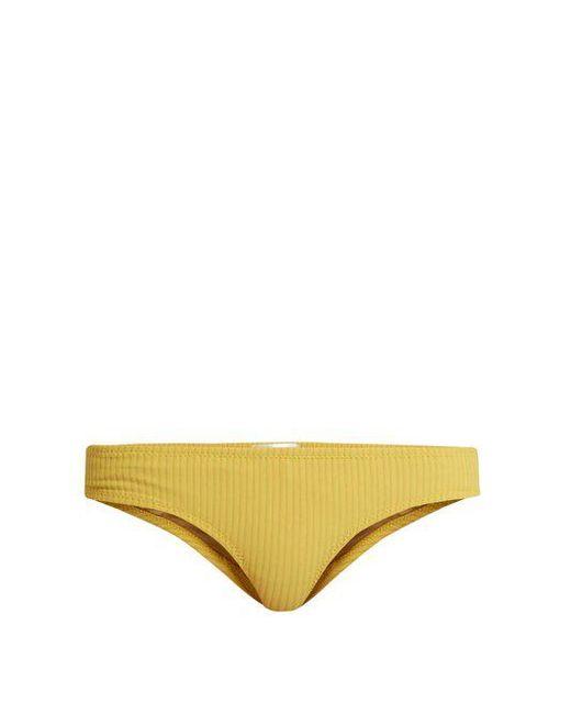 Made By Dawn - Yellow Petal 2 Bikini Briefs - Lyst