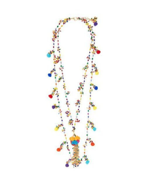 Rosantica By Michela Panero - Multicolor Pizzo Bead-embellished Spiral Necklace - Lyst