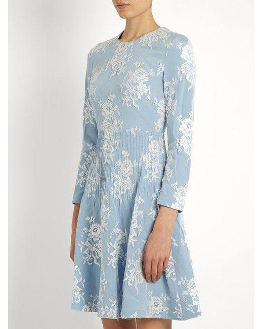 Sale 2018 Unisex Brand New Unisex Online Kiera cotton-blend floral-lace dress Huishan Zhang AoWuS