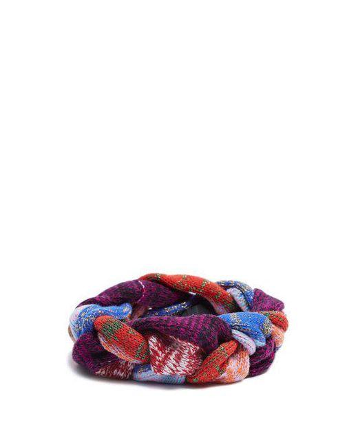 Braided-knit wool-blend headband Gucci 9oSUwD1