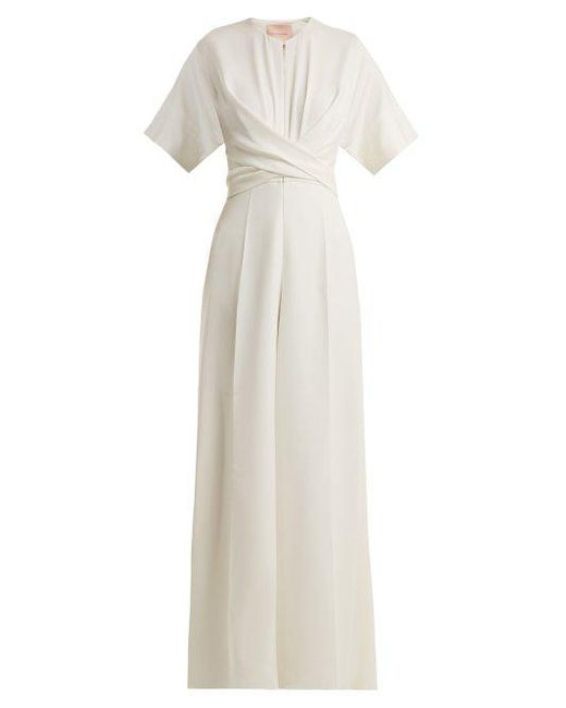 Clearance Professional Clean And Classic Tullus cut-out cady jumpsuit Roksanda Ilincic Affordable mjUkz1fZ