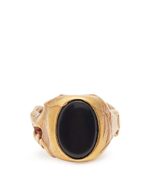 Valentino | Multicolor Stone-embellished Signet Ring | Lyst