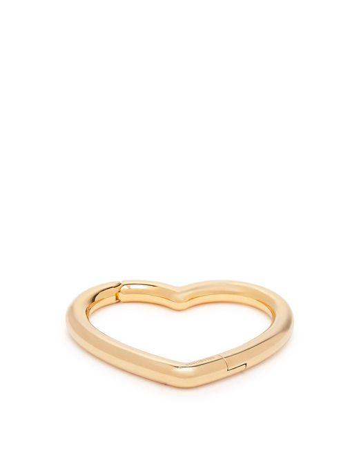 Balenciaga - Metallic Heart Bracelet - Lyst
