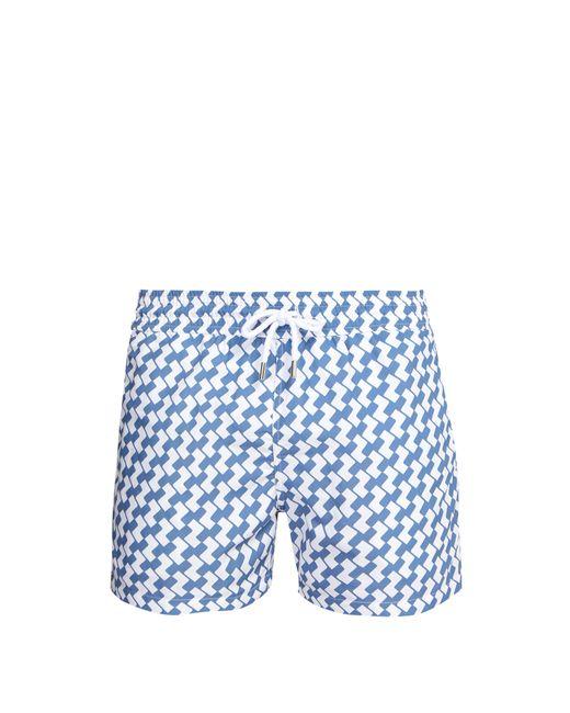 Frescobol Carioca - Blue Short de bain à imprimé Copacabana for Men - Lyst