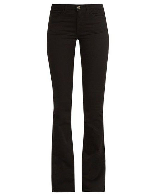 MiH Jeans - Black Flare Jeans - Lyst