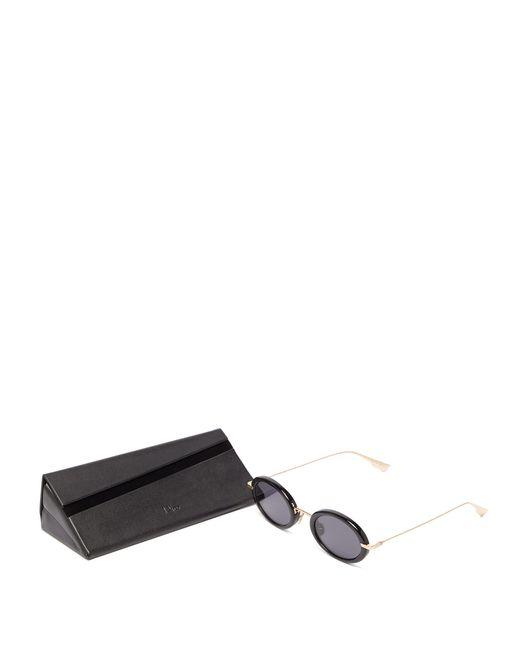 5343fa3dab ... Dior - Black Lunettes de soleil ovales en acétate DiorHypnotic2 - Lyst  ...