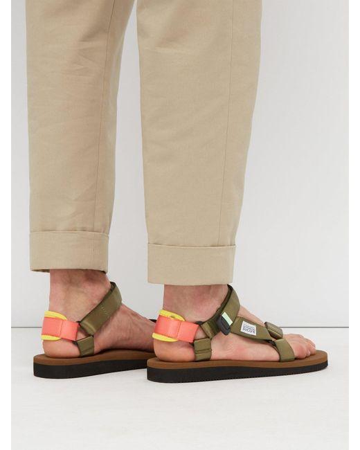 fa360ae2c29 ... Suicoke - Multicolor Depa Cab Nylon Sandals for Men - Lyst ...