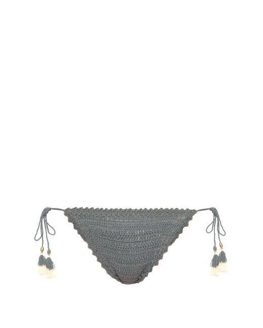 She Made Me | Blue Essential Mini Tie-side Bikini Briefs | Lyst
