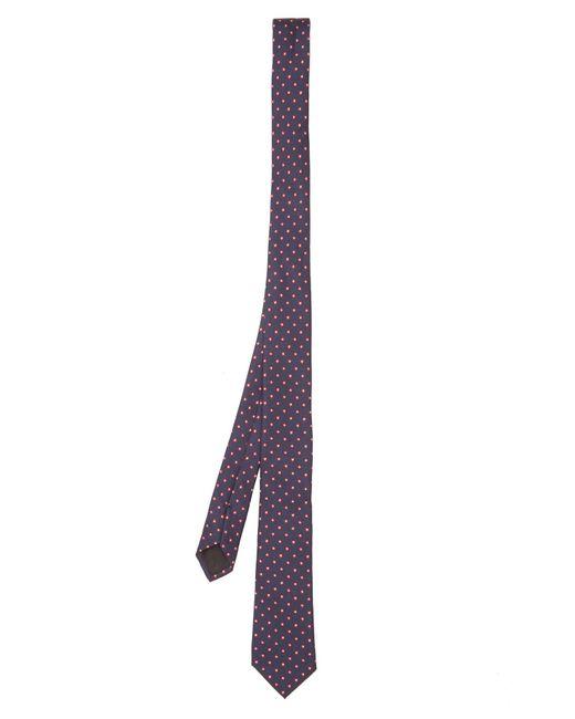 Valentino | Purple Star-jacquard Silk Tie for Men | Lyst