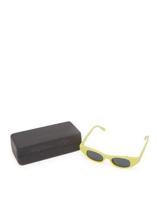 The Breaker cat-eye acetate sunglasses Le Specs OnrM7Lg7ds