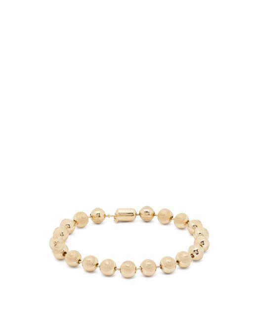 Luis Morais - Metallic 14kt Gold Beaded Bracelet for Men - Lyst