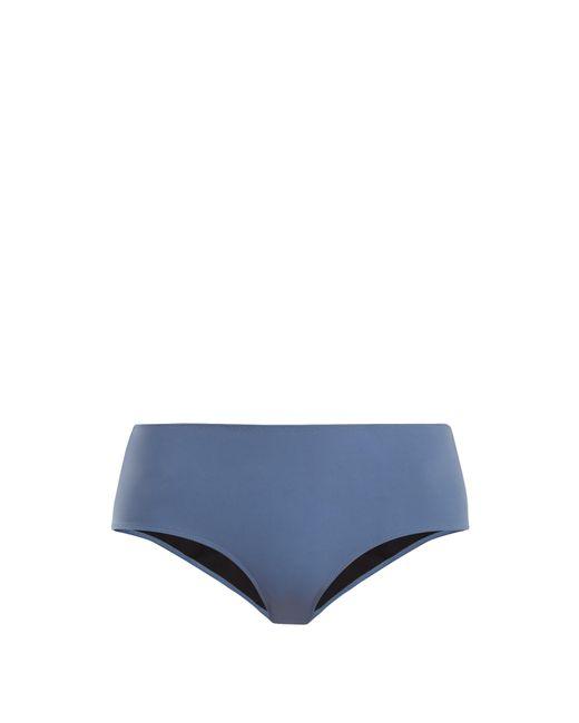 Rochelle Sara - Blue The Natalie Mid Rise Bikini Briefs - Lyst
