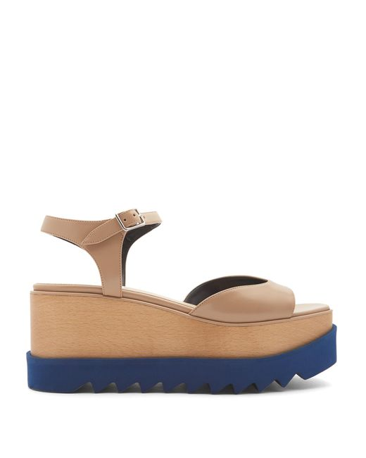 Stella McCartney | Multicolor Elyse Platform Sandals | Lyst