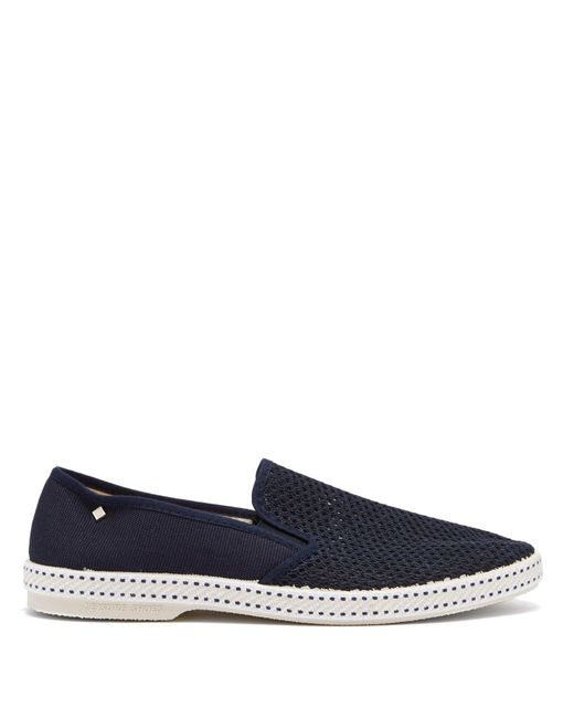 Rivieras - Blue Sultan Des Plages Suede Loafers for Men - Lyst