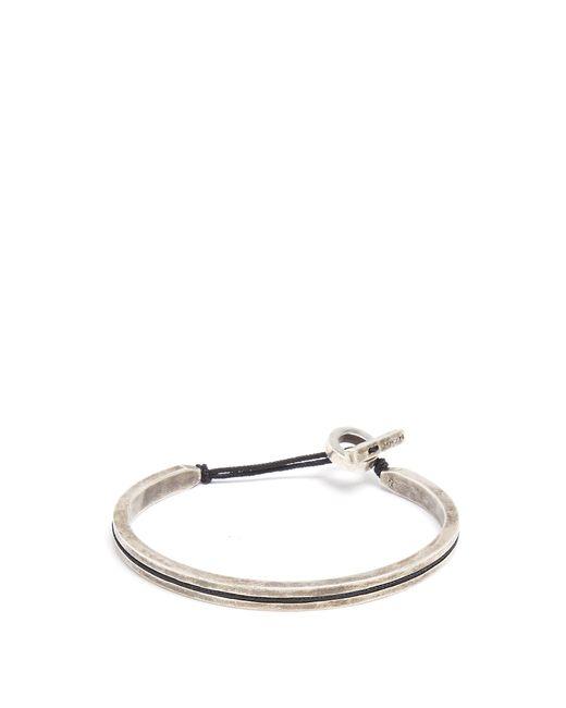 M. Cohen   Metallic Sterling-silver Cuff for Men   Lyst