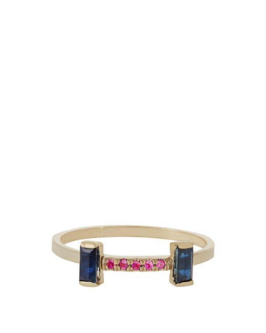 Loren Stewart | Multicolor Sapphire, Ruby & Yellow-gold Ring | Lyst